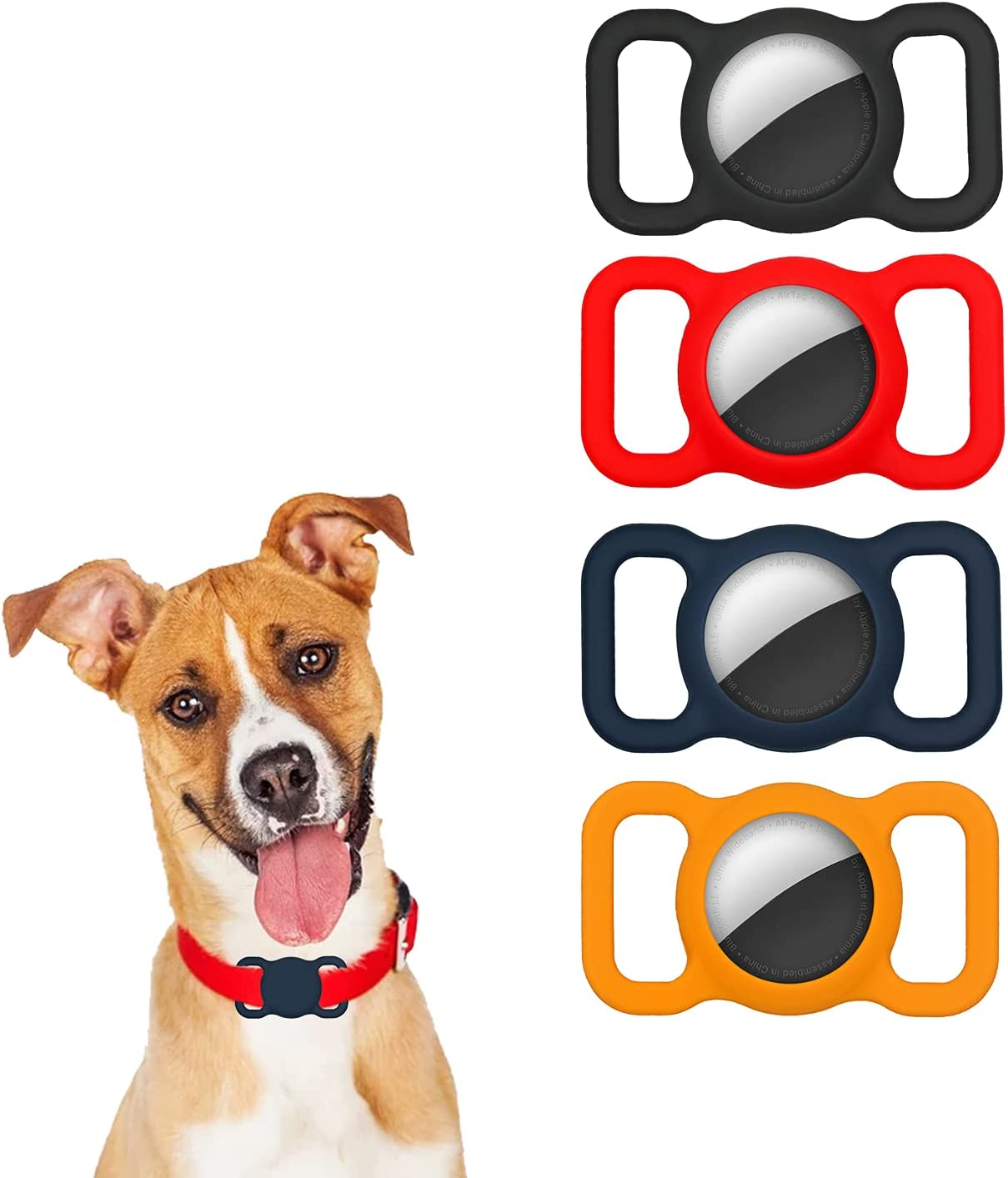 Airtag Dog Collar Factory outlet Holder,Silicone Compatible Max 67% OFF Holder with Ap