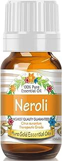 Pure Gold Neroli Essential Oil, 100% Natural & Undiluted, 10ml