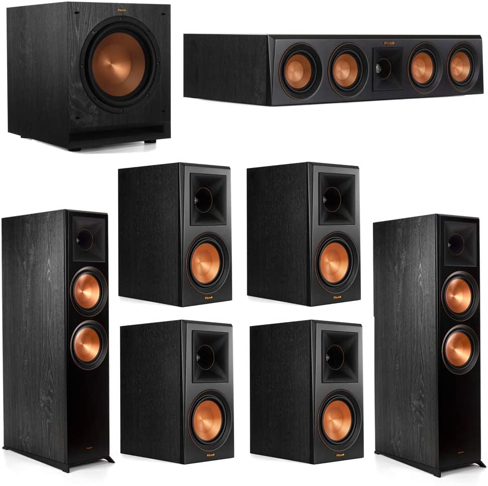 Klipsch 7.1.2 Spring new work 2021 model one after another System - 2 RP-8060FA Dolby Speakers Atmos 1 RP-40