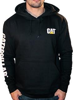 Caterpillar Men's Trademark Banner Hooded Sweatshirt (Regular and Big & Tall Sizes)