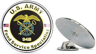 Veteran Pins U.S. Army MOS 94B Food Service Specialist Metal 0.75