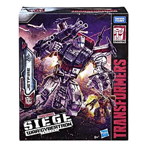 Transformers E4824EU4 Spielzeug Generations War for Cybertron Commander WFC-S28 Jetfire Actionfigur-Siege-Erwachsene und Kinder ab acht Jahren, 28 cm