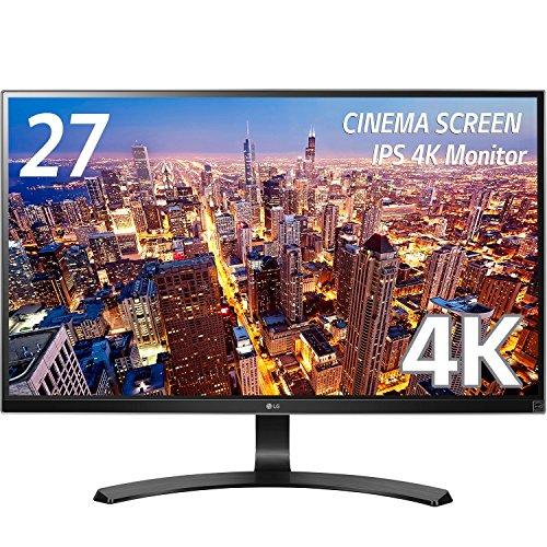LG モニター ディスプレイ 27UD68-P 27インチ/4K(3840×2160)/IPS 非光沢/HDMI×2、DisplayPort/ブルーライト...