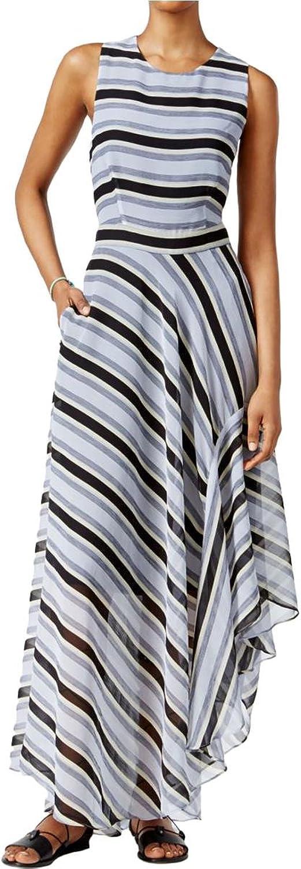 Rachel Rachel Roy Striped OpenBack Maxi Dress