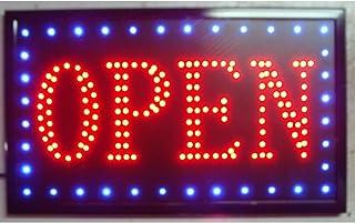 Ardisle Panneau de barre à LED avec affichage de la fenêtre du pub Club Restaurant Boutique à emporter ouvert