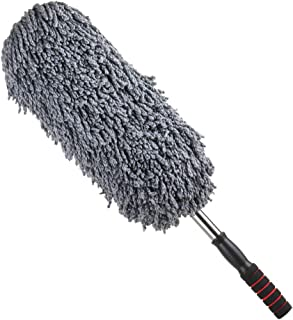 Microfiber Car Duster with Long Extendable Handle