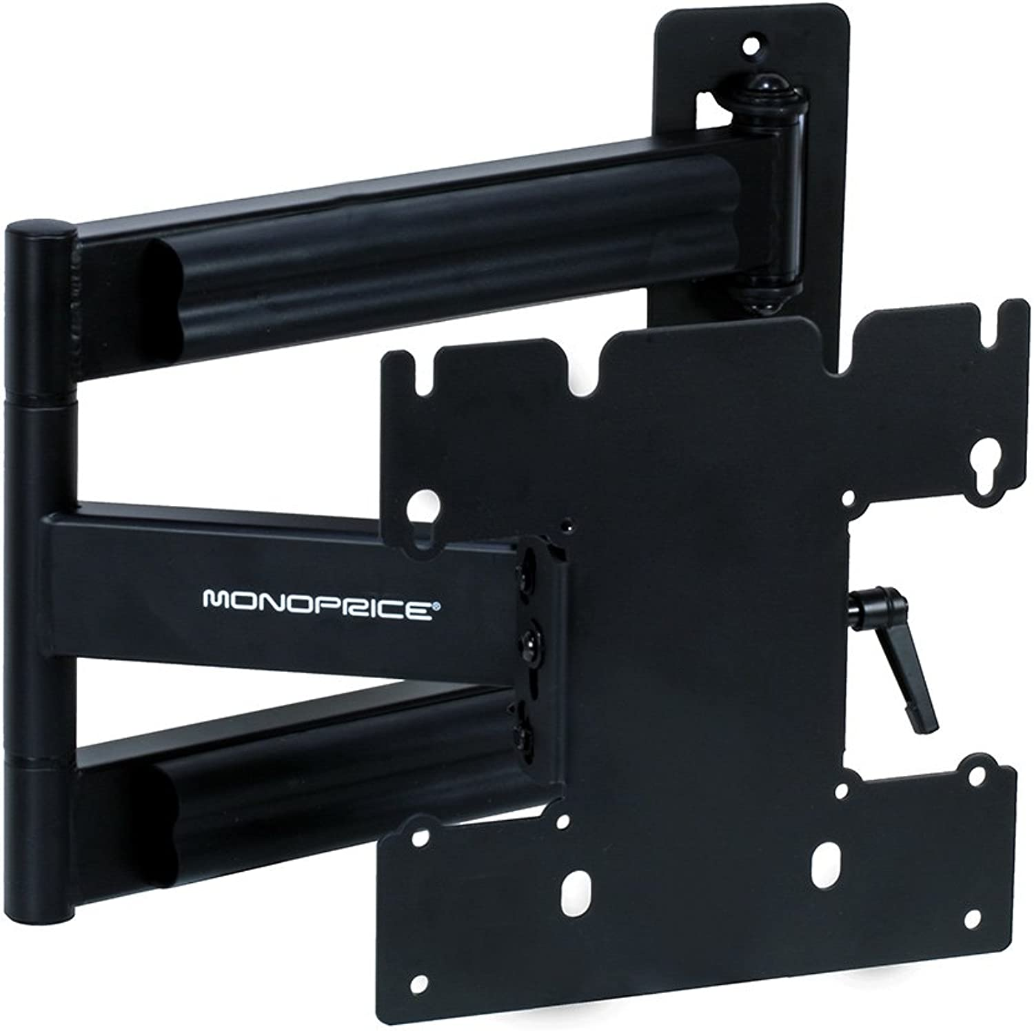 Monoprice Adjustable Tilting Swiveling Wall Mount Bracket for LCD LED Plasma Corner Friendly (Max 80Lbs, 2340inch)