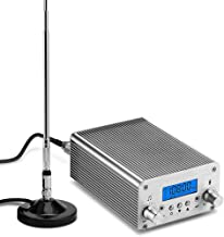 $169 » Sponsored Ad - FM Transmitter,15W 87~108MHz FM Radio Broadcast Transmitter for Church,School,Factory High-Fidelity Audio F...
