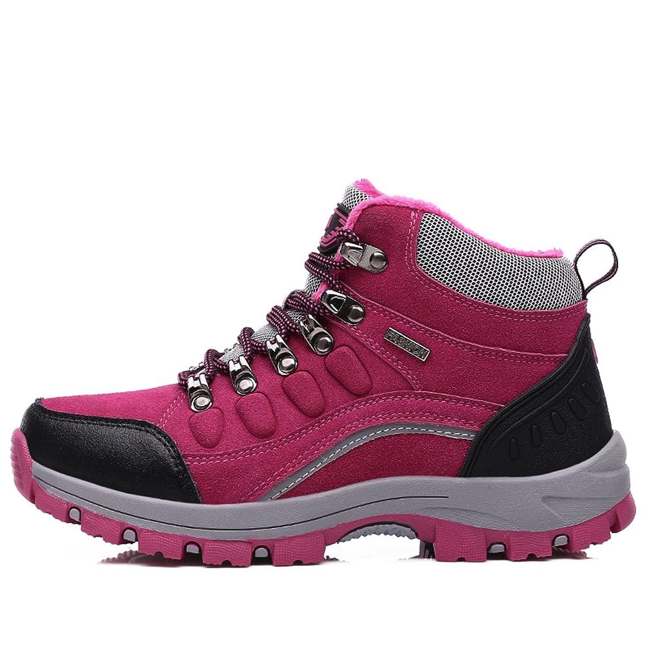 心配するむさぼり食う水没[Z.SUO] ハイキングシューズ メンズ/レディース トレッキングシューズ 登山靴 アウトドア キャンプ シューズ 滑りにくい スリッポン カジュアル 男女兼用 暖かいです
