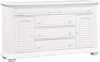Liberty Furniture Industries Summer House I 2 Door 5 Drawer Dresser, 66