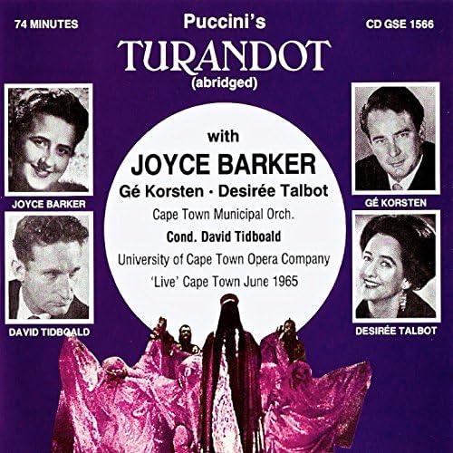 Joyce Barker, Ge Korsten & Desiree Talbot