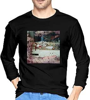 Men's Long Sleeve T-Shirts Pusha Daytona T Cotton Round Neck T Shirts