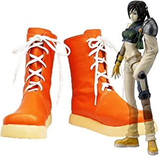 Final Fantasy VII FF7 Yuffie Kisaragi Cosplay Shoes Boots Custom Made 2