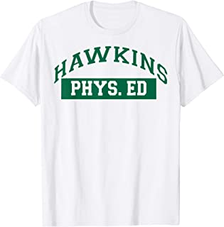 Netflix Stranger Things Hawkins Phys. Ed Logo T-Shirt