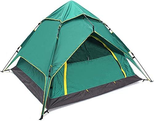Global Brands Online Grande Tente de Camping étanche pour 4 Personnes