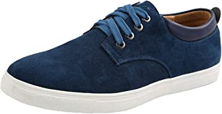 WUIWUIYU Homme Respirant Classic Canvas Basket Basses Bateau Chaussures