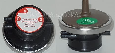 25870-74090 Vacuum Solenoid Modulator EGR Valve Modulator Fits: Lexus ES300 Subaru Forester Impreza Legazy Toyota Avalon Camry Celica MR2 RAV4 Solara