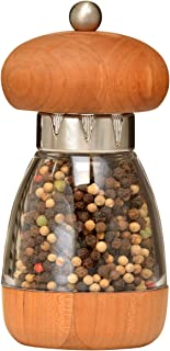 William Bounds 00125 Mushroom Mill - Pepper Grinder - American Cherry Wood and Acrylic