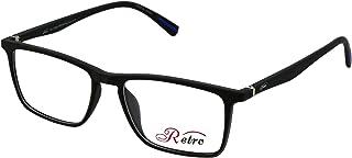 RETRO Unisex-adult Spectacle Frames Rectangular 5601 M.Black/Blue