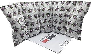 """Cuscino termico """"Violets"""" - 47 x 20 cm (XL) - pieno di noccioli di ciliegia 800gr - effetto freddo/caldo . saco termiche"""