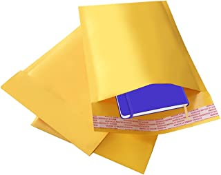 Bubble Mailer Envelopes - 25 Pack 8.5 x 12-inch ShipQuick Bubble Mailer Envelopes with Hot Melt Glue Adhesive - Lightweight, Strong Envelope Bags with Bubble Padding - Thick & Flexible Envelopes