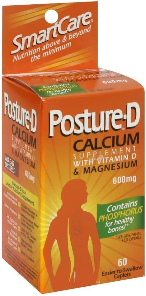 Posture-D Calcium Oklahoma City famous Mall with Vitamin D Magnesium Caplets ct 60 - Pa