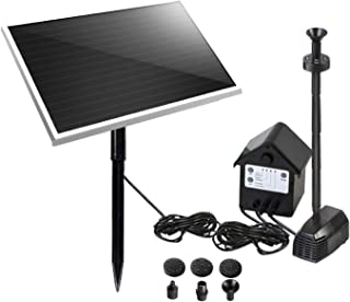 Gardeon Solar Powered Water Pond Pump with Battery