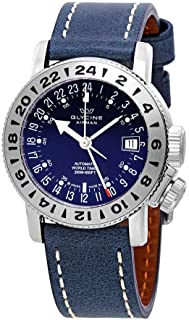 Glycine Airman 18 GMT Automatic Blue Dial Men's Watch GL0221
