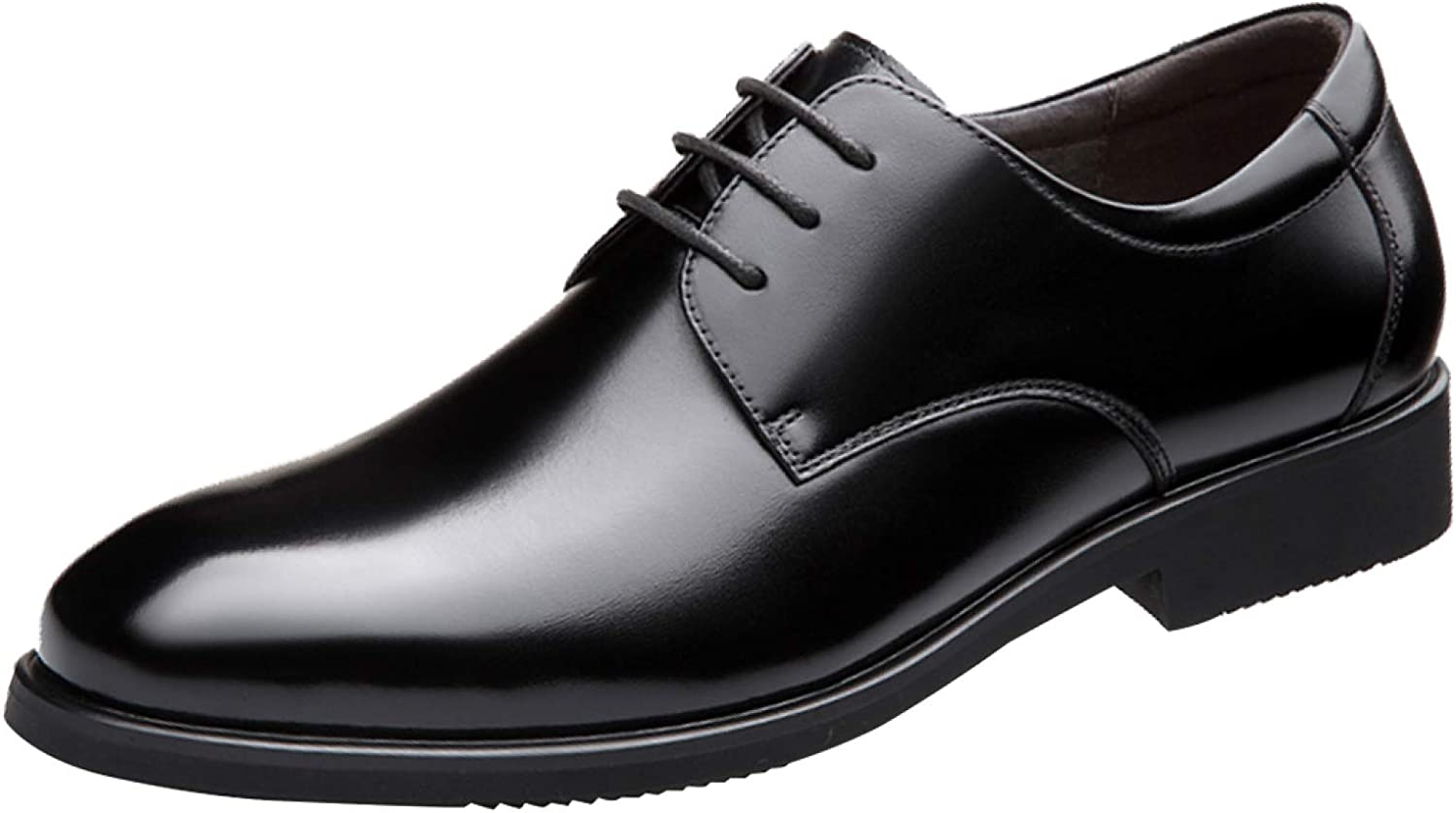 MYXUA Herren Lace Derby Schuhe Business Casual Schuhe Mode Breathable England