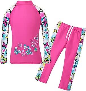 Girls Swimsuit Two Piece Swimwear 3-12 Years UPF 50+ UV