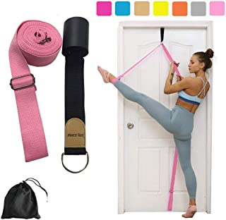 Yoga Stretch Strap - to Improve Leg Stretching - Perfect Home Equipment for Ballet, Dance, Warm upand Gymnastic Exercise -...