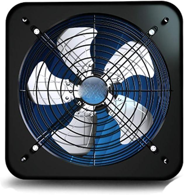 Yousiju Extractor, extractor de cocina, extractor de humos de aceite doméstico, ventilador de ventilación tipo ventana, extractor silencioso y potente
