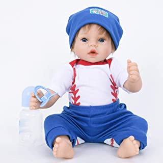 Hongge Reborn Baby Doll,Se ve una muñeca renacida Real El bebé Crece una muñeca