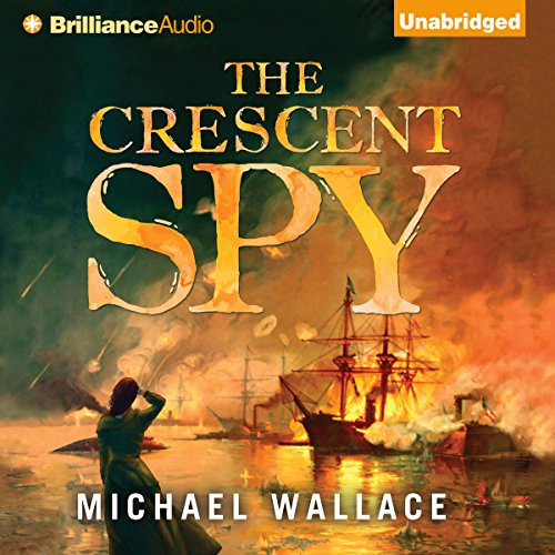 The Crescent Spy audiobook cover art