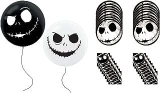 Nightmare Before Christmas Jack Skellington Party Balloons Plates Napkins