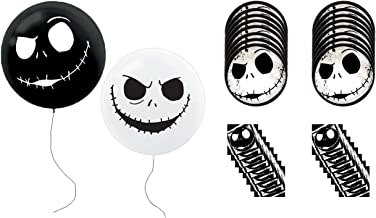 Nightmare Before Christmas Jack Skellington Party Balloons Plates Napkins