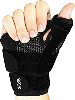 Thumb Spica Splint Wrist Stabilizer Support Brace For thumb Pain, Tendonitis, Arthritis & Sprains One Size Fits Most Fits ...