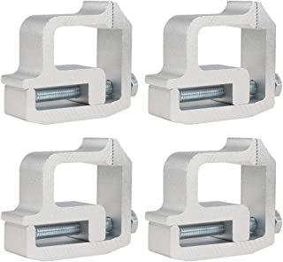 D DOLITY 4X Car Cap Topper Shell Clamps for Tite Lok Clamps -2002 Replacement
