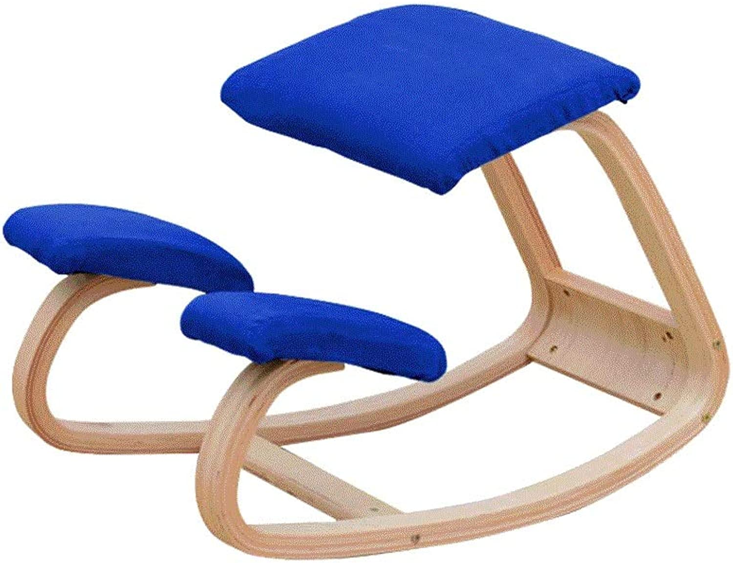 Ltong Solid Wood Correct Sitting Position Chair Chair Yoga Computer Chair Durable (color   B)