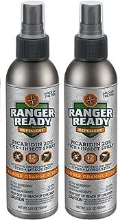 Ranger Orange Picaridin 20% Tick + Insect Repellent Spray 2 Pack - 2X 100ml(3.4oz)