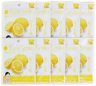 Pure Smile ピュアスマイル エッセンスマスク レモン 10枚セット
