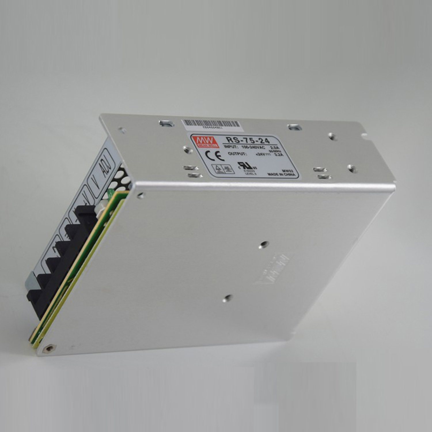 MEAN WELL RS-75-12 RS-75 Series 72 W Single Output 12 V AC/DC Switching Power Supply - 1 item(s)