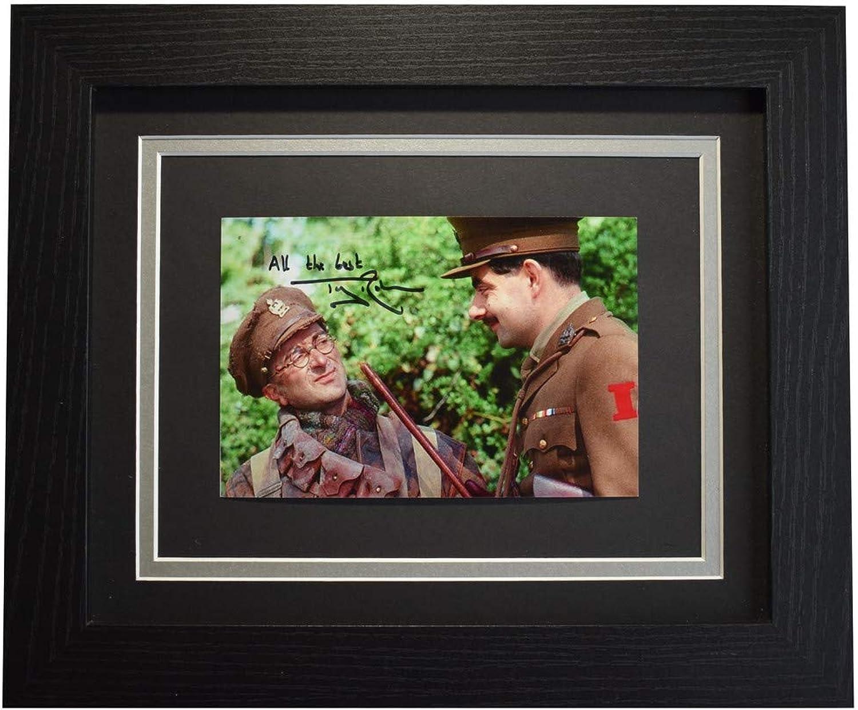 Sportagraphs Tony Robinson Signed 10x8 Framed Photo Autograph Display Blackadder TV COA