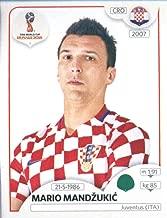 2018 Panini World Cup Stickers Russia #330 Mario Mandzukic Croatia Soccer Sticker