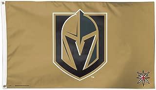 Wincraft Las Vegas Golden Knights Gold 3x5 NHL Flag Black Logo New …