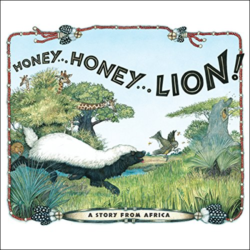 Honey... Honey... Lion! audiobook cover art