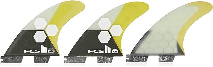 FCS II Al Merrick Performance Core Thruster Fin Small Yellow