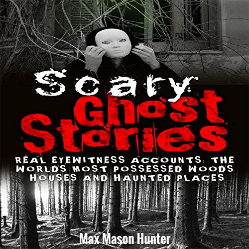 Scary Ghost Stories audiobook cover art