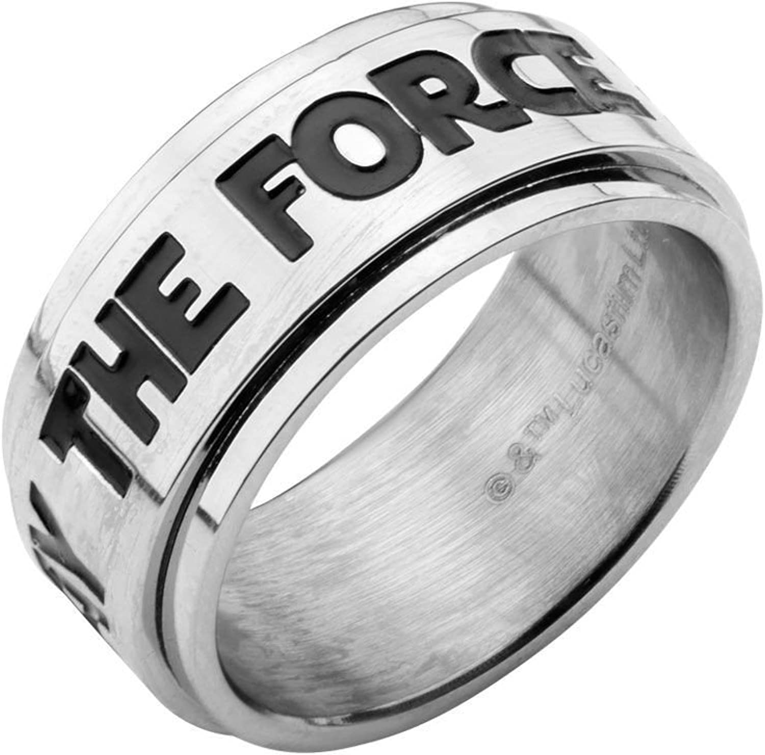 22. Star Wars: Spinner May The Force be with You Quote Ring