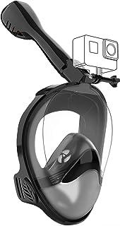 comprar comparacion Avoalre Máscara de Buceo, Máscara de Snorkel de Cara Completa 180 ° Panorámica Gafas de Bucear Anti-Niebla y Anti-Fugas co...